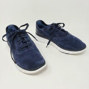 Vionic Taylor Navy Blue Comfort Sneakers Wide